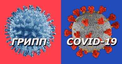 Как отличить грипп от коронавируса